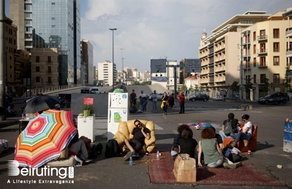 Outdoor Welcome to Ring Plaza-Ring Bridge Lebanon