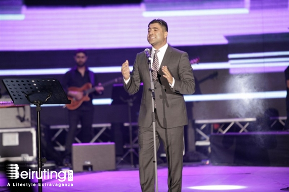 Waterfront City Dbayeh Concert Wael Kfoury at Dbayeh International Festival  Lebanon