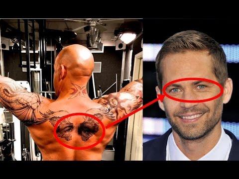 Vin Diesel Tattoo