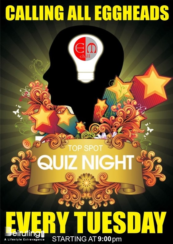 Em Chill Beirut-Gemmayze Nightlife Quiz Night Lebanon